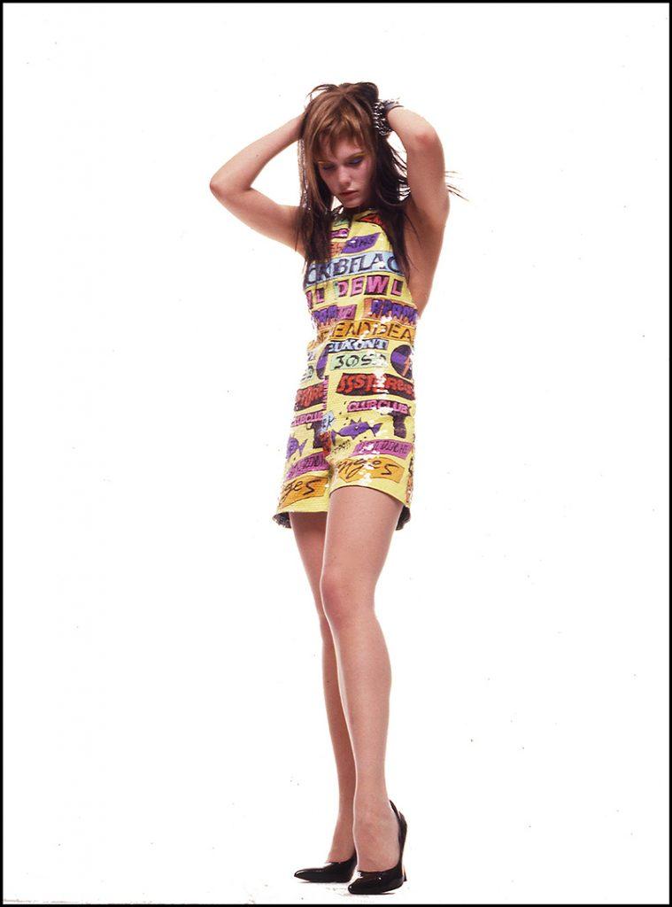 Stephen Sprouse - Punk Rock Mini Skirt