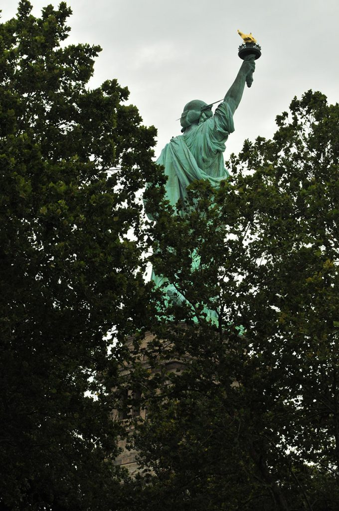 Lady Liberty's Back